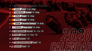 New 2020 WordSBK Calendar